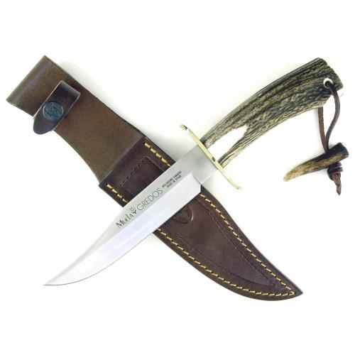 Gred 16 Stag Horn Handle Knife Sheath Ruko Products Muela Stag Horn Handle And Custom Sheath